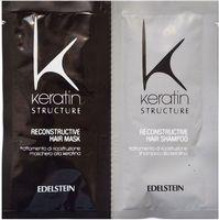 Keratin structure maska + szampon saszetki 2x12 ml