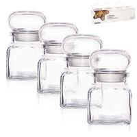 Pojemnik szklany na przyprawy 150 ml 4 szt ORION