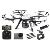 Dron overmax x-bee drone 8.0 FPV wifi kamera 4k szybki start prezent