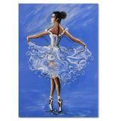 Obraz na płótnie - Canvas, Baletnica 70x100