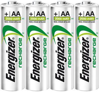 4x AKUMULATORKI ENERGIZER Power Plus AA R6 2000mAh