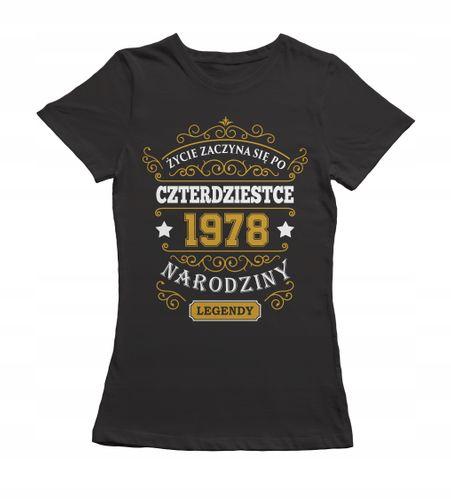 Koszulka damska na prezent urodzinowa urodziny 190 na Arena.pl