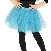 niebieskie TUTU spódniczka tancerki BALETU 31 cm