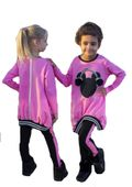 Tunika i legginsy dla dziewczynki 122 128