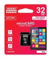 32GB KARTA MICROSD GOODRAM MICRO CLASS 10 SDHC +AD