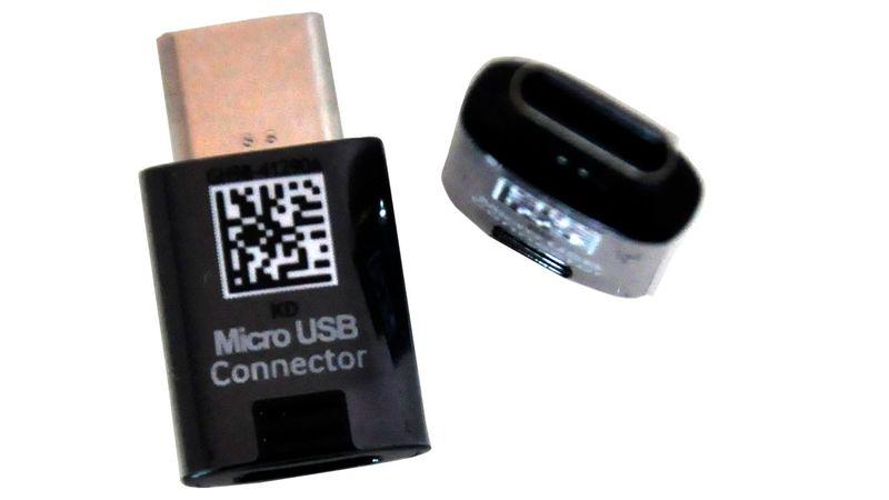 Adapter Przejściówka micro-USB do USB-C Samsung na Arena.pl