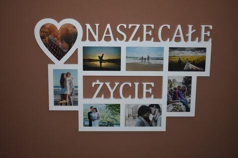 Multirama ramka na zdjęcia z napisem Nasze Całe Życie