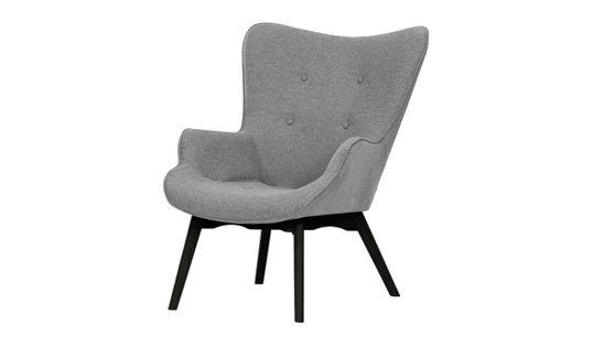 Fotel uszak Ducon Malmo-Malmo 90-czarny