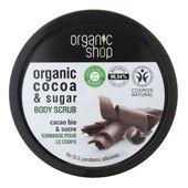 Organic Shop Peeling do ciała Belgijska czekolada - 250 ml