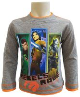 T-Shirt Star Wars r104 Licencja Disney LucasFilm (PH1138 Grey 4Y)