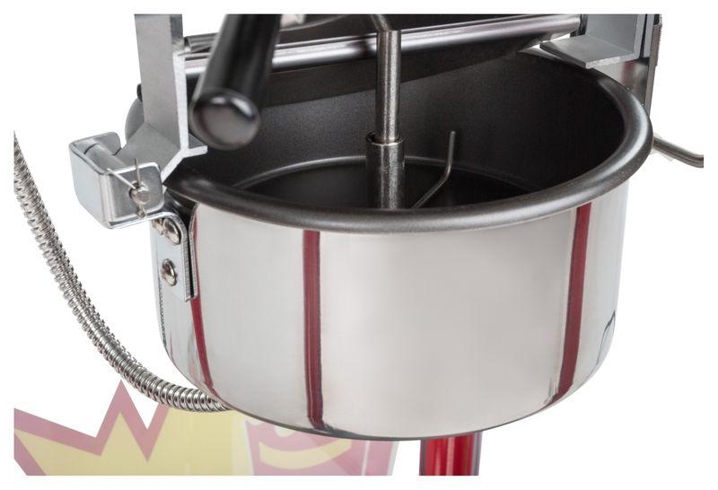 Maszyna do popcornu - czarny daszek Royal Catering RCPS-16E zdjęcie 7