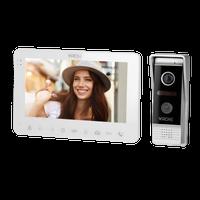 Zestaw wideo domofonowy, bezsłuchawkowy, kolor, LCD 7, menu OSD, WI-FI + APP na telefon, sterowanie bramą, biały, VIFAR,VDP-63
