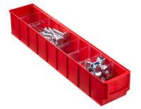 Pojemnik magazynowy czerwony- 500x91x81 mm