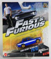 Mattel Fast & Furious Ford Escort RS1600 MK1 1970