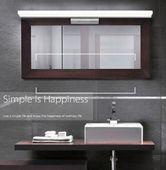 Minimalistyczna lampa nad lustro Kinkiet łazienkowy LED 40 cm 9W zdjęcie 8