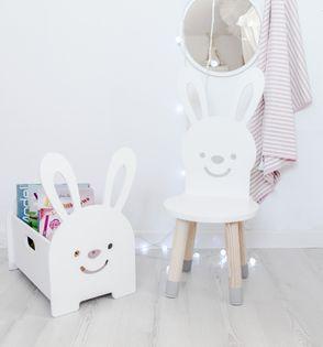 Krzesło krzesełko królik dla dzieci