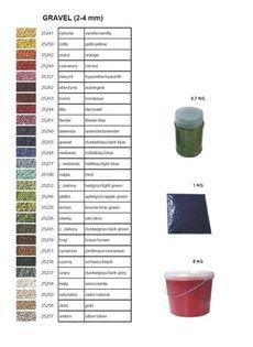 Żwir dekoracyjny kolor hiacynt 1kg