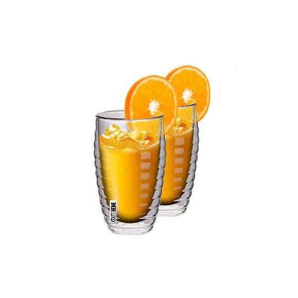 Zestaw Szklanek Termicznych Do Napojów Juice 380ml 2szt. zdjęcie 1