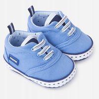 Buty z serży dla chłopca 12cm Niebieski