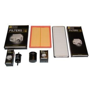Filtry zestaw 4szt. filtrów OPEL Astra F I 1.4 1.6