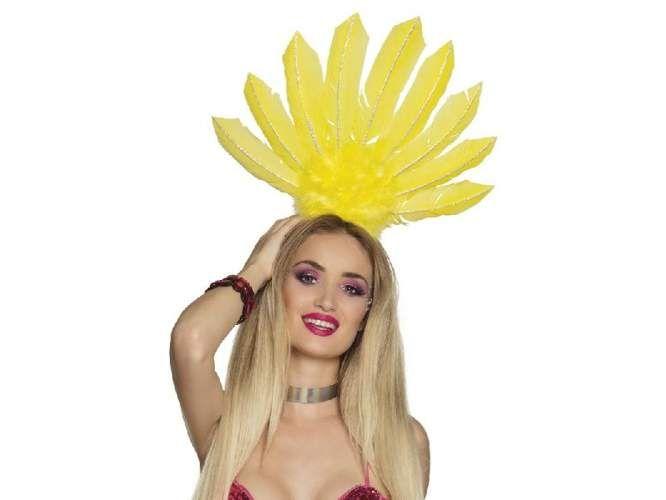 Opaska Samba dla dorosłych - żółta zdjęcie 1
