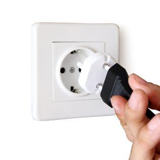 Zabezpieczenie gniazdka elektrycznego b/u 1szt