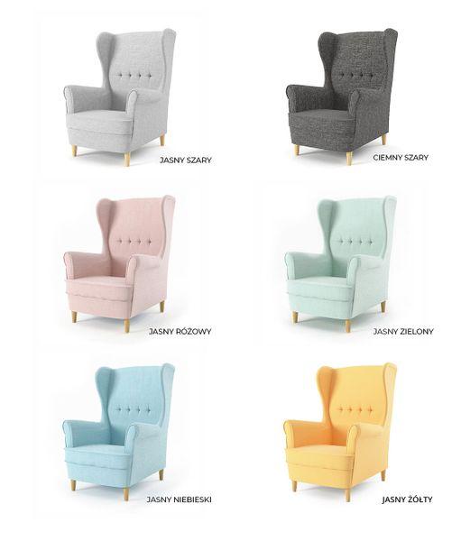 Fotel USZAK MILO styl skandynawski PRODUCENT zdjęcie 8
