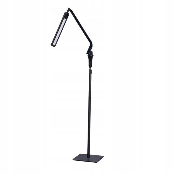 Lampa Stojąca Podłogowa Led Usb 4 Tryby Kanlux Salon Czarna