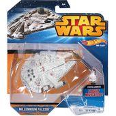 Star Wars Hot Wheels statek kosmiczny Millennium Falcom