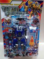 Robot transformer samochód policyjny 7699