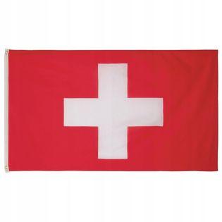 Flaga na maszt 90 x 150 cm Szwajcaria