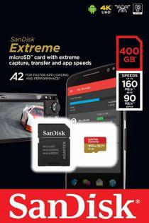 Karta pamięci SanDisk 400GB UHS-I W/A Micro SDXC SDSQXA1-400G-GN6MA