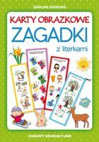 Karty obrazkowe Zagadki z literkami Guzowska Beata, Adesanya Miriam