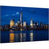 Obraz 60X40 Nowy Jork Nad Rzeką Hudson