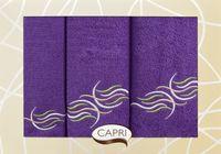 Zestaw Ręczników Na prezent Fioletowy 3 Częściowy