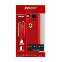 Ferrari Scuderia Red Zestaw Woda Toaletowa Refillable 2 X 25Ml + Iphone 6/6S Phone Case
