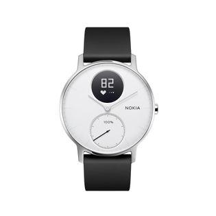 Nokia Activité Steel HR - smartwatch z pomiarem pulsu (biały 36mm)