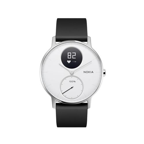 Nokia Activité Steel HR - smartwatch z pomiarem pulsu (biały 36mm) na Arena.pl