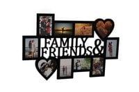 Multirama ramka na zdjęcia z napisem Family & Friends