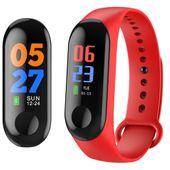 Opaska sportowa smartband pulsometr smartwatch cze
