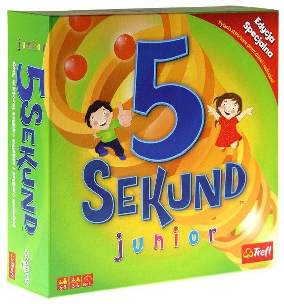 TREFL Gra 5 sekund Junior 2.0 Edycja specjalna zdjęcie 1