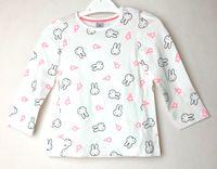 2 pack bluzka długi rękaw Miffy C&A 80