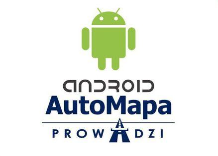 AutoMapa Polski Na Android 1 Rok Mapa Na 366 Dni