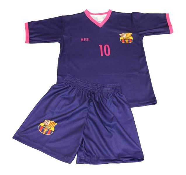 42d461237cae24 Komplet piłkarski Replika Messi 10 fiolet - r. 152 • Arena.pl
