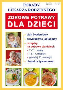 Zdrowe potrawy dla dzieci Basse Monika