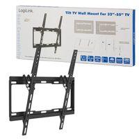 """Uchwyt ścienny do telewizora LCD/LED LogiLink nachylenie -14°/0°, VESA 400x400, 32-55"""""""