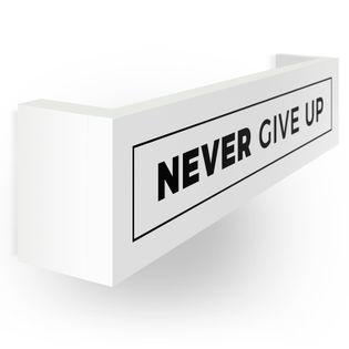 Wieszak na medale | Medalówka | Never give up