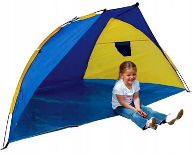 Olbrzymi Namiot Plażowy 220 cm Ochrona UV 8731