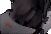 Wózek Bliźniaczy Spacerowy Spacerówka EASYGO FUSION Denim wys. 0zł zdjęcie 11