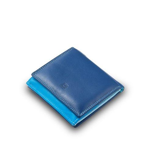"""Skórzany portfel damski """"piekiełko"""" DuDu®, 534-216 niebieski na Arena.pl"""